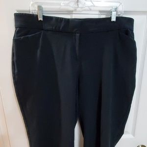 Navy blue women's dress pants